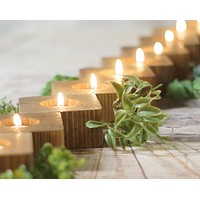 20-50 Reclaimed Wood Candle Holders
