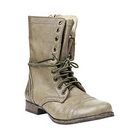 Steve Madden - TROOPA OLIVE LEATHER