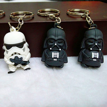 New Star Wars Figures Key Chains