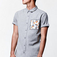 On The Byas Roth Short Sleeve Button Up Shirt at PacSun.com