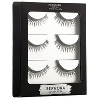 SEPHORA COLLECTION Astonish Lash Trio (3 x Pairs of False Eyelashes in Astonish)