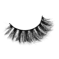 1 pair 3D Handmade Thick Mink Eyelashes  Natural False Eyelashes for Beauty Makeup fake Eye Lashes Extension-A14