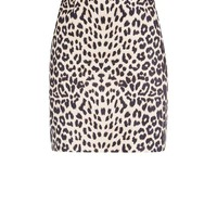 Cameo Rose Brown Leopard Print Mini Skirt | New Look