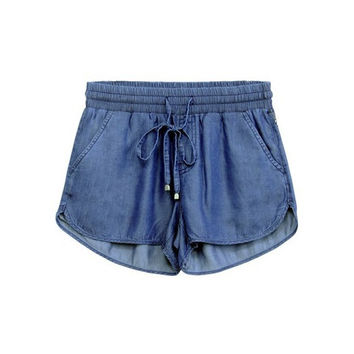 Tencel Dolphin Shorts