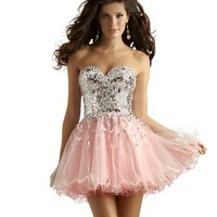 Sweetheart Baby Doll Prom, Homecoming and Sweet 16 Dress 2391