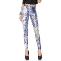 Middle Earth Map Leggings for Woman