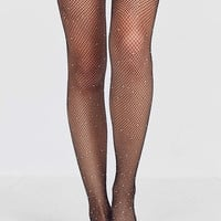Out From Under Silver Stars Sheer Tight | Urban Outfitters