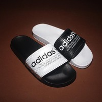 Cheap men's Adidas Summer new sandals beach slippers