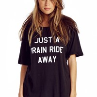 Train Ride Perfect Tee