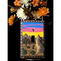Light Switch Cover Single - Southwestern