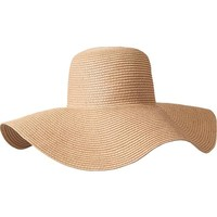 Old Navy Womens Floppy Straw Sun Hats