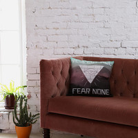 Wesley Bird For DENY Fear None Pillow - Urban Outfitters
