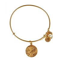 Alex and Ani Sister Charm Bangle - Russian Gold