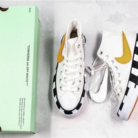 Off White x Converse The Shoe Surgeon