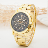 Stylish Gift New Arrival Trendy Designer's Great Deal Good Price Awesome Luxury Men Stainless Steel Quartz Watch [6542574019]