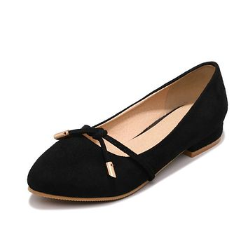 Women's Casual Suede Flat Shoes