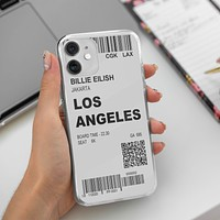 Boarding Passs iPhone 12 Case