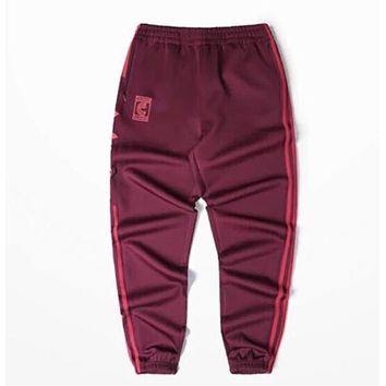 Kanye Red Casual Pants West Coast Pablo Kanye Season4 Fitness jogging pants Men And Women Jogging Pants Calabasas Print Sweatpants