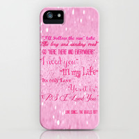 Love Songs iPhone Case by Veronica Ventress | Society6