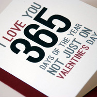 Valentine Card I Love You Card Valentines Day Card by RowHouse14