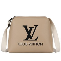 LV 2019 new women's versatile shoulder bag Messenger bag Khaki