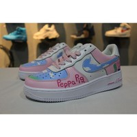 Nike Air Force 1 Low AF1 Peppa Pig Girl Sport Shoes - Best Online Sale
