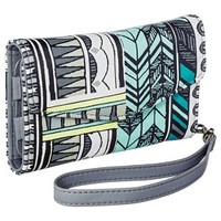 Merona® Flap Phone Case Wallet with Removable Wristlet Strap - Blue