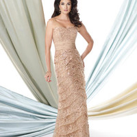 Mother of the Bride Dresses – Montage by Mon Cheri 114924 Strapless Lace