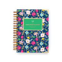 2017 Daily Simplified Planner by Emily Ley - Fancy Floral
