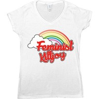 Feminist Killjoy -- Women's T-Shirt