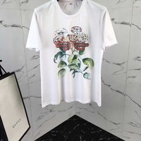 NEW 100% Authentic GUCCI 2018SS FLOWERS t shirt   ※013