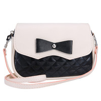 Bowknot Fashion women messenger bags Diamond Lattice handbag women bag shoulder school bags sacos de designer bolsa feminina