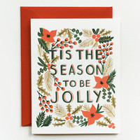 Rifle Paper Co. - 'Tis the Season Card