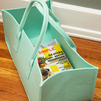 Present Time Dorm Decor Cache and Carry Storage Tote