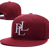 RHXING Pretty Little Liars Logo Adjustable Snapback Embroidery Hats Caps - Red