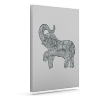 "Belinda Gillies ""Elephant"" Outdoor Canvas Wall Art"