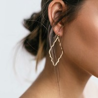 Reagan Gold Earrings