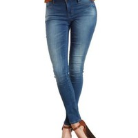 Skin Tight Legging Knit Skinny Jeans