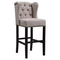 Bedford Wingback Stool, Bar & Counter Stools