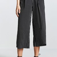 Contemporary Striped Gauchos