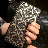 Hollow Out Floral creative case for iPhone 5s 6 6s Plus Lover Gift-88