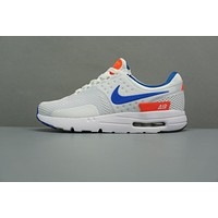 NIKE AIR MAX ZERO 87 white blue orange