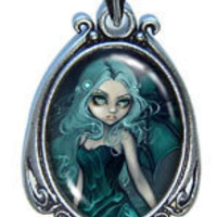 Art Pendant - Sea Beacon by Jasmine Becket-Griffith