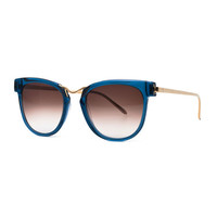 Thierry Lasry Choky Square Sunglasses, Blue