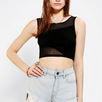 Silence + Noise Illusion Bra Top - Urban Outfitters