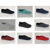 Womens Classic Canvas Sneakers Cotton Shoes Flat Skateboard Tennis espadrilles