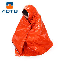 Insulating Mylar Material Thermal First-Aid Blanket Outdoor Survival Life-saving Waterproof Emergency Rescue Tent Camping Mat