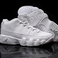 Nike Air Jordan 9 Retro Low White Men Sport Shoe Size US 7-13-1