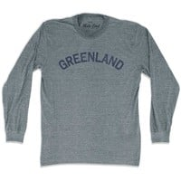 Greenland City Vintage Long Sleeve T-shirt