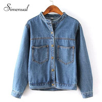 Low Pocket Denim Jacket